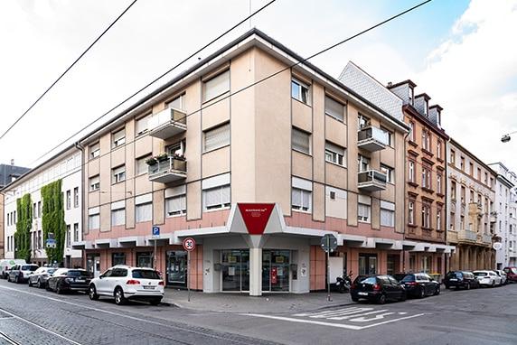 Gebäude der Bürgerdienste Neckarstadt-West
